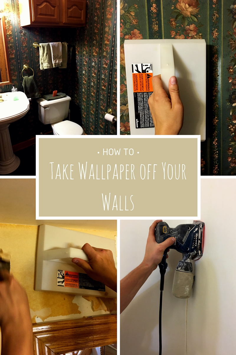 How To Take Wallpaper Off Walls