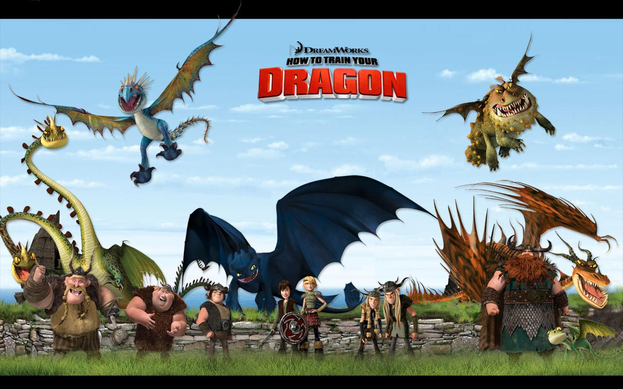 How To Train Dragon Wallpaper
