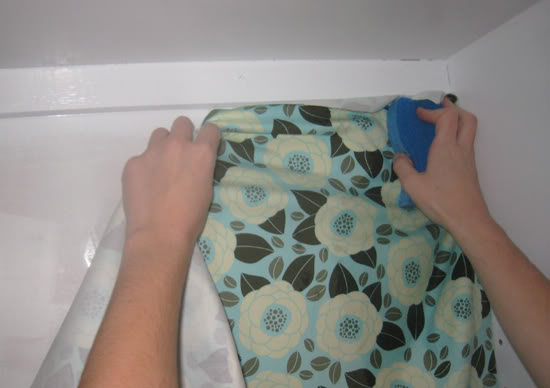 How To Use Fabric For Wallpaper