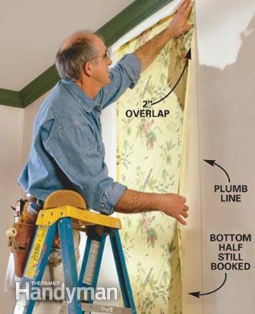 How To Use Prepasted Wallpaper