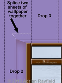 How To Wallpaper A Window