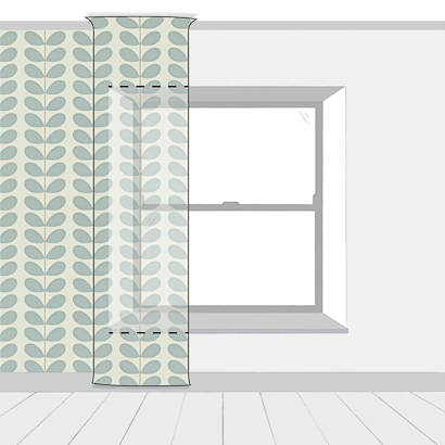 How To Wallpaper Around A Window