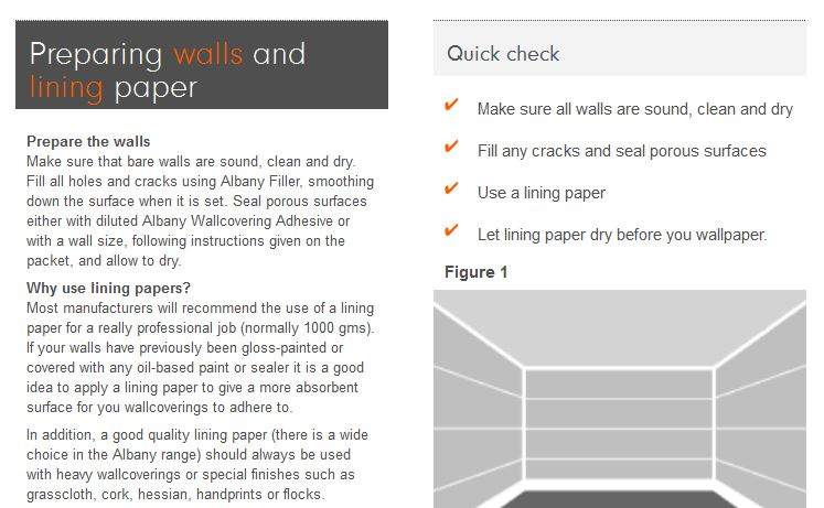 How To Wallpaper Lining Paper