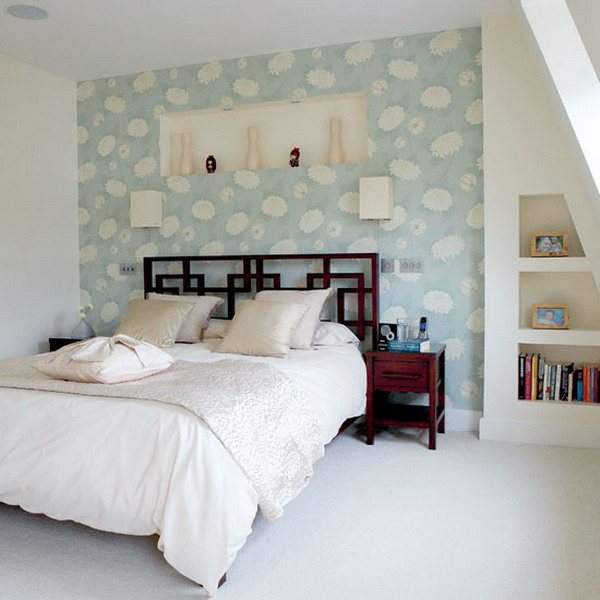 How To Wallpaper One Wall In A Room
