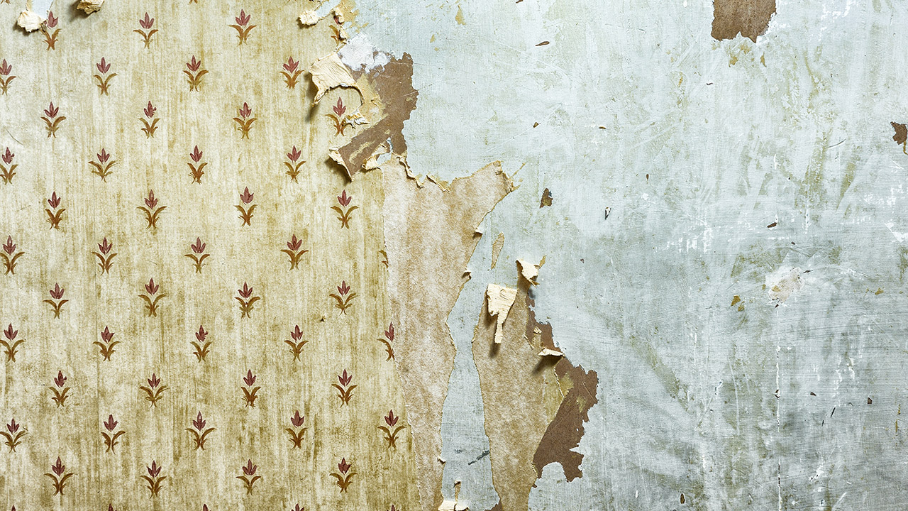 How To Wallpaper Over Old Wallpaper