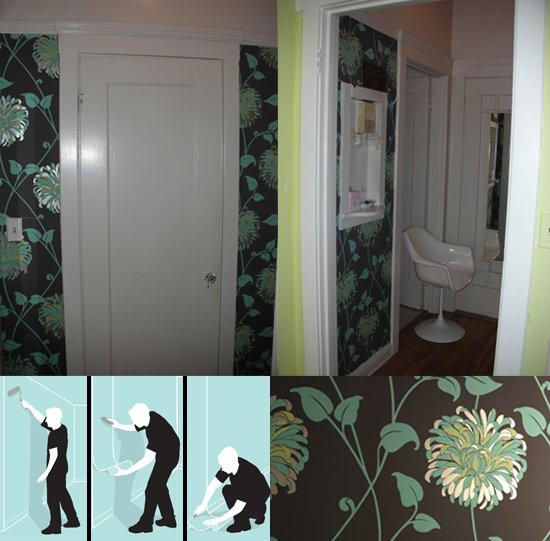 How To Wallpaper Paste The Wall