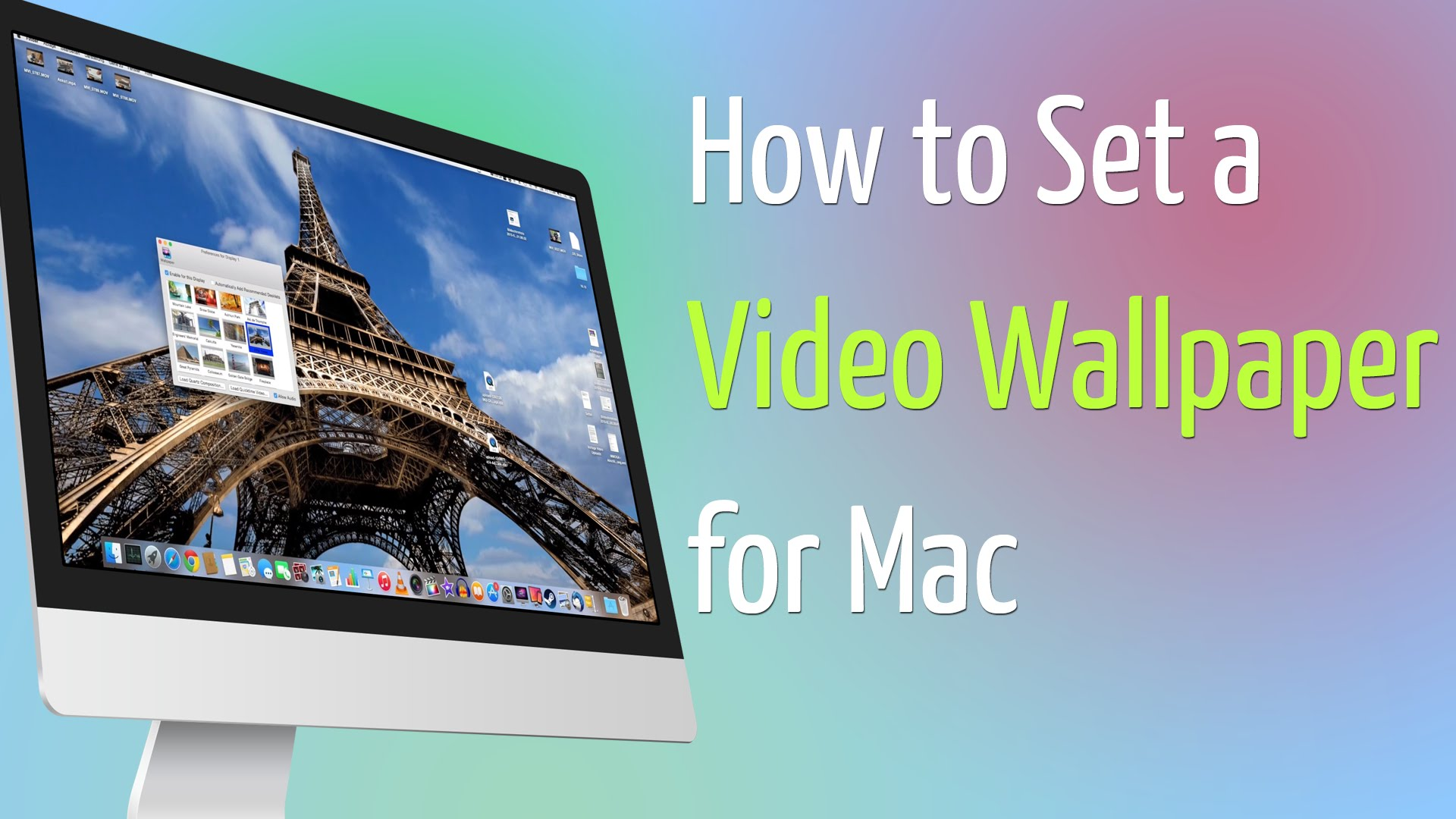 How To Wallpaper Video