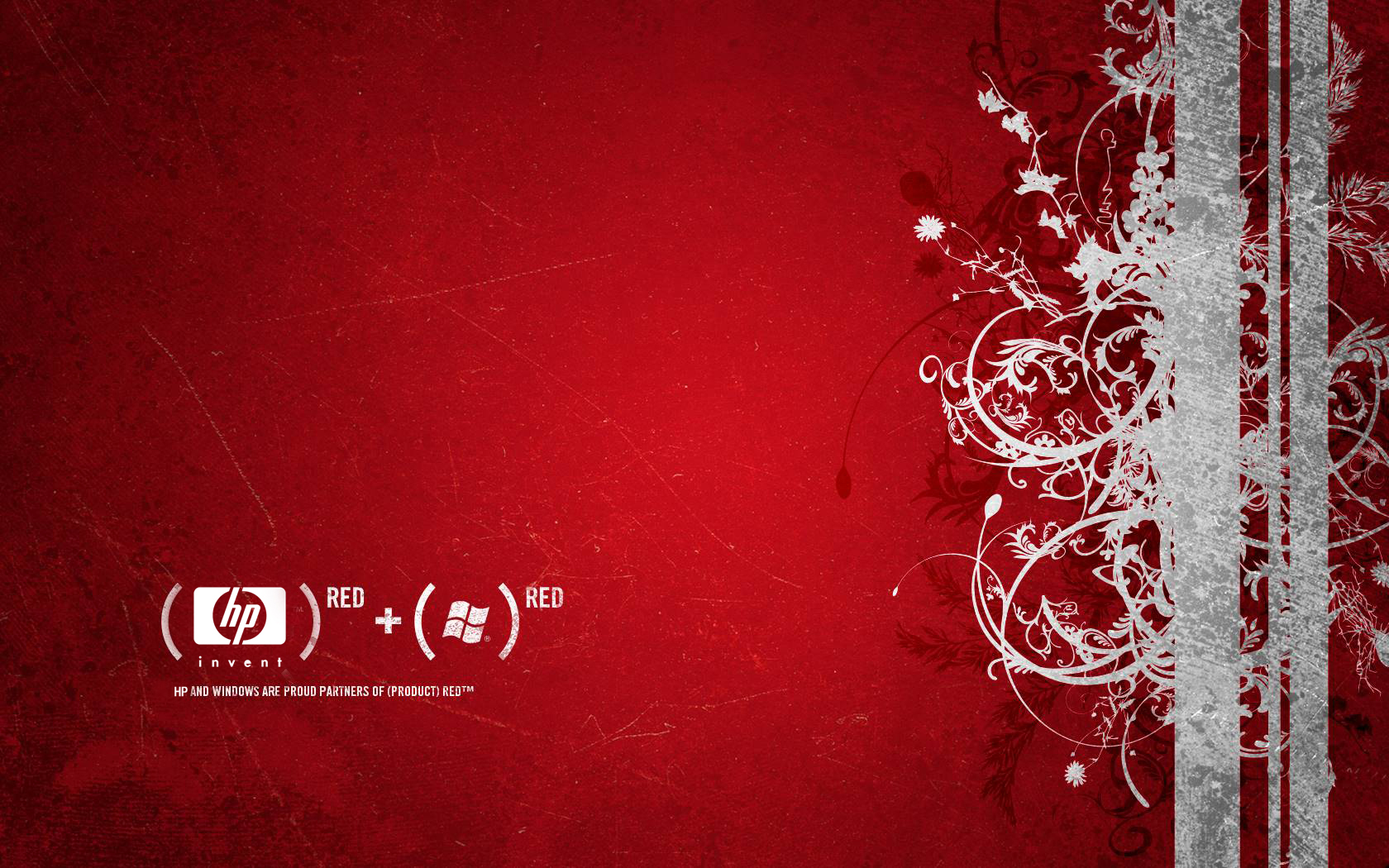Hp Red Wallpaper