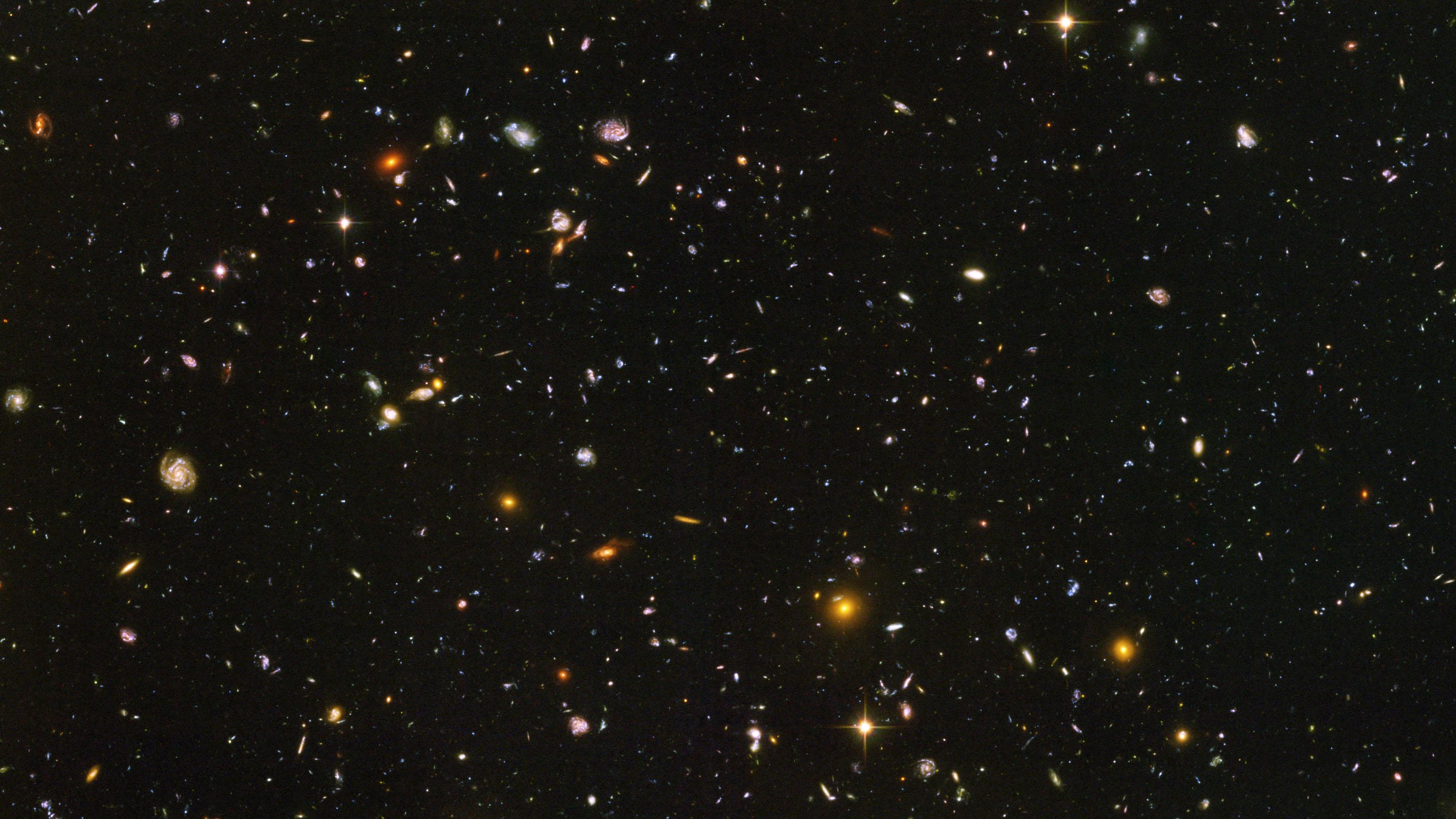 Hubble Deep Field Image Wallpaper