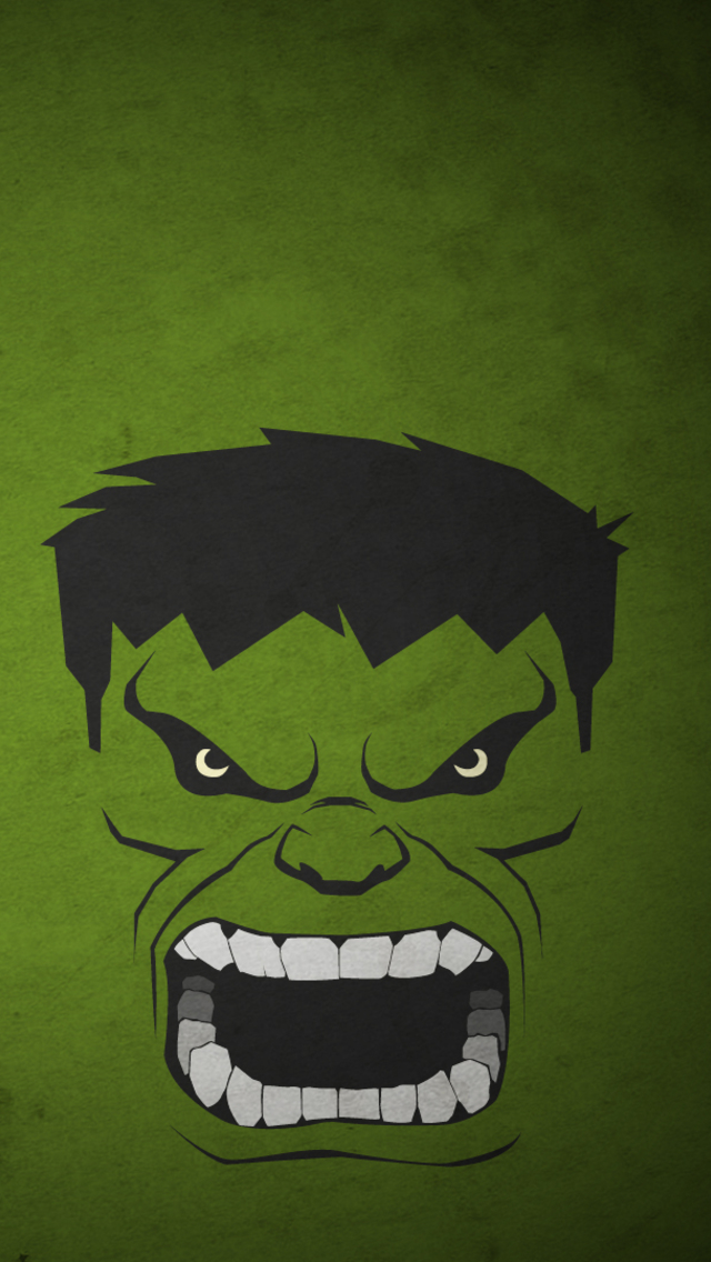 Hulk Iphone 5 Wallpaper