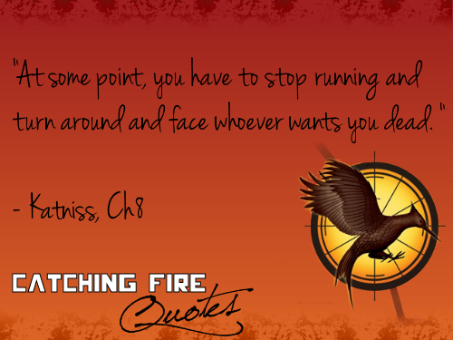 Hunger Games Quotes Wallpaper