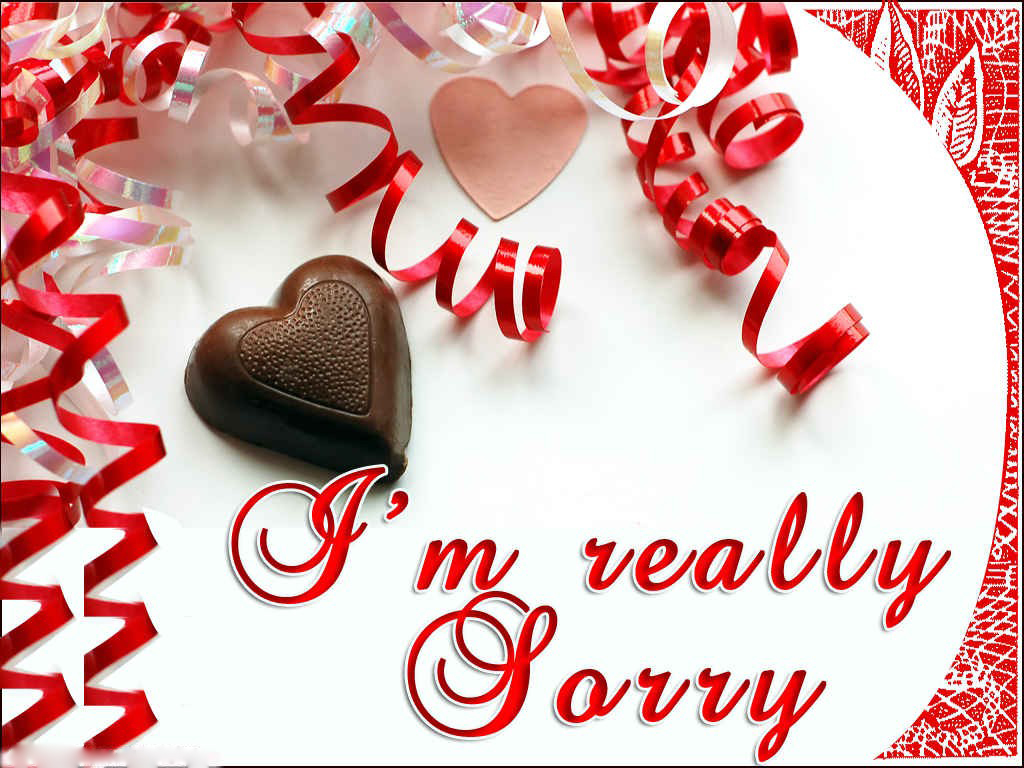 I Am Sorry Wallpapers Love