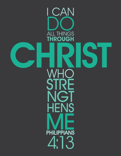 I Can Do All Things Through Christ Wallpaper
