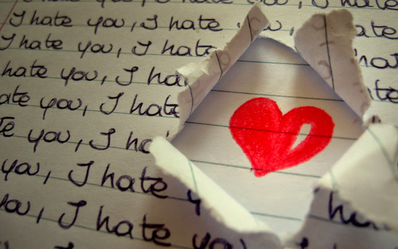 I Hate Myself For Loving You Wallpaper