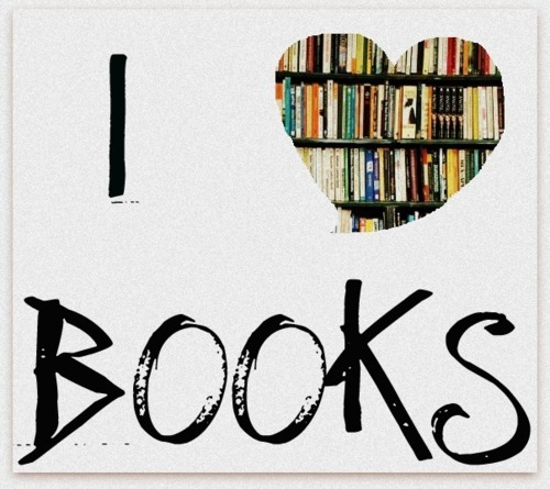 I Love Books Wallpaper