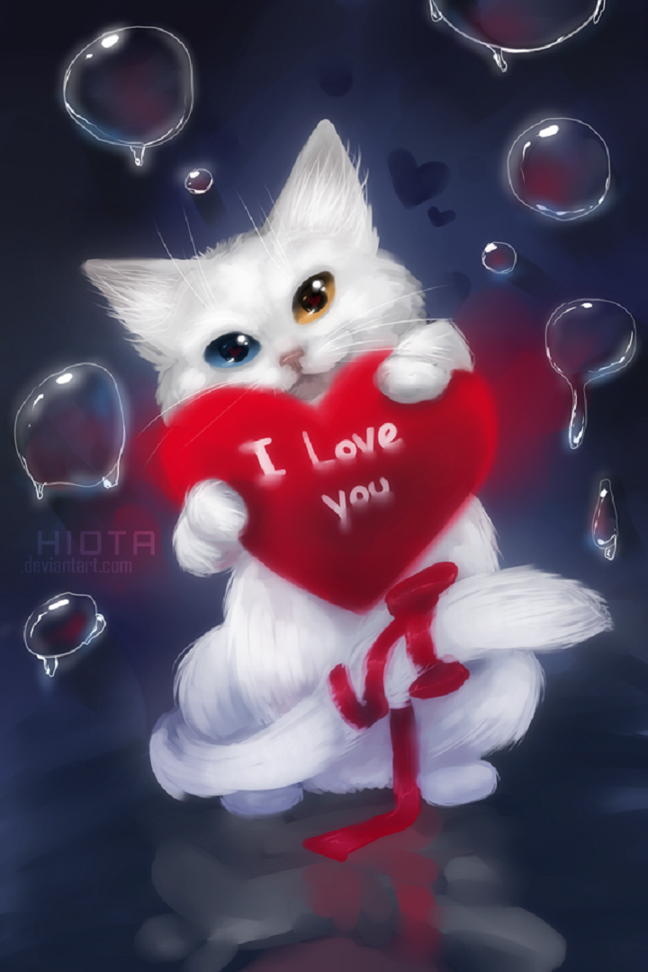Download I Love Cats Wallpaper Gallery
