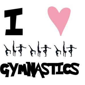 I Love Gymnastics Wallpaper