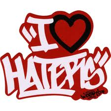 I Love Haters Wallpaper