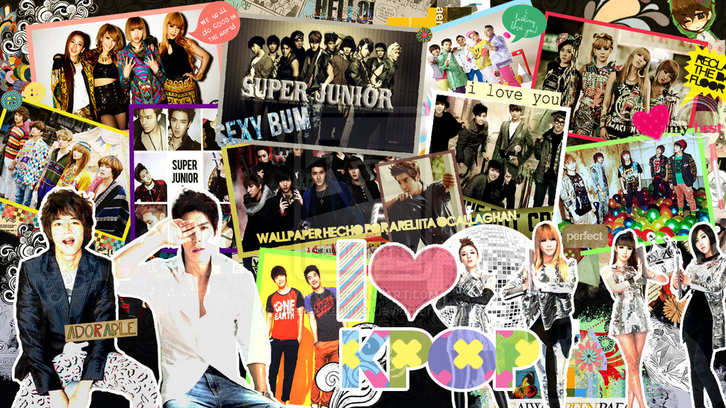 I Love Kpop Wallpaper