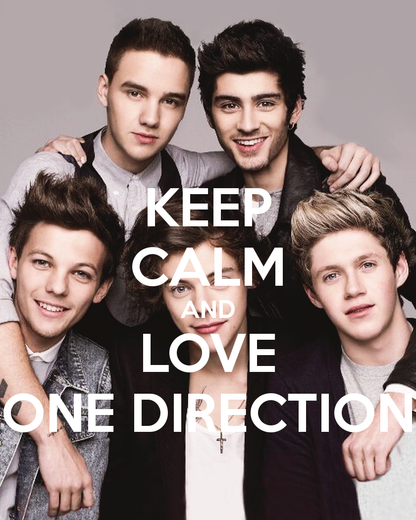 I Love One Direction Wallpaper
