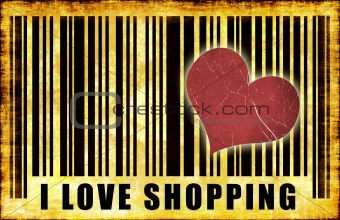 I Love Shopping Wallpaper
