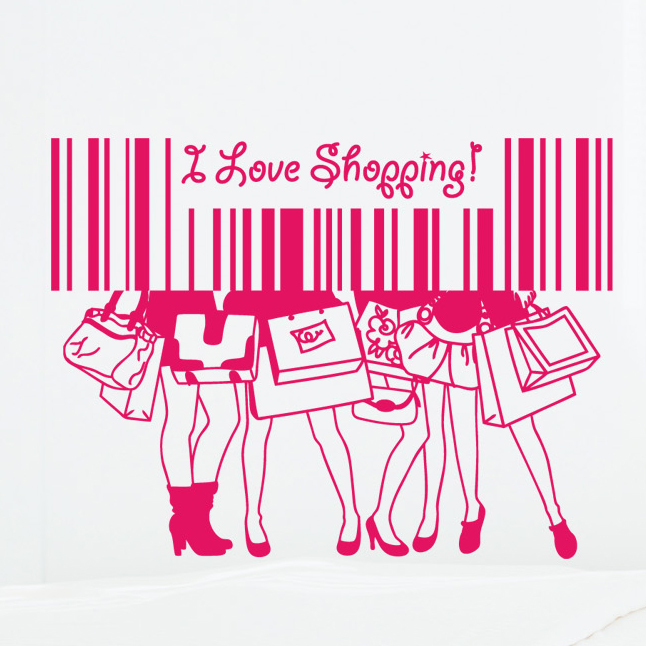 Download I Love Shopping Wallpaper Gallery