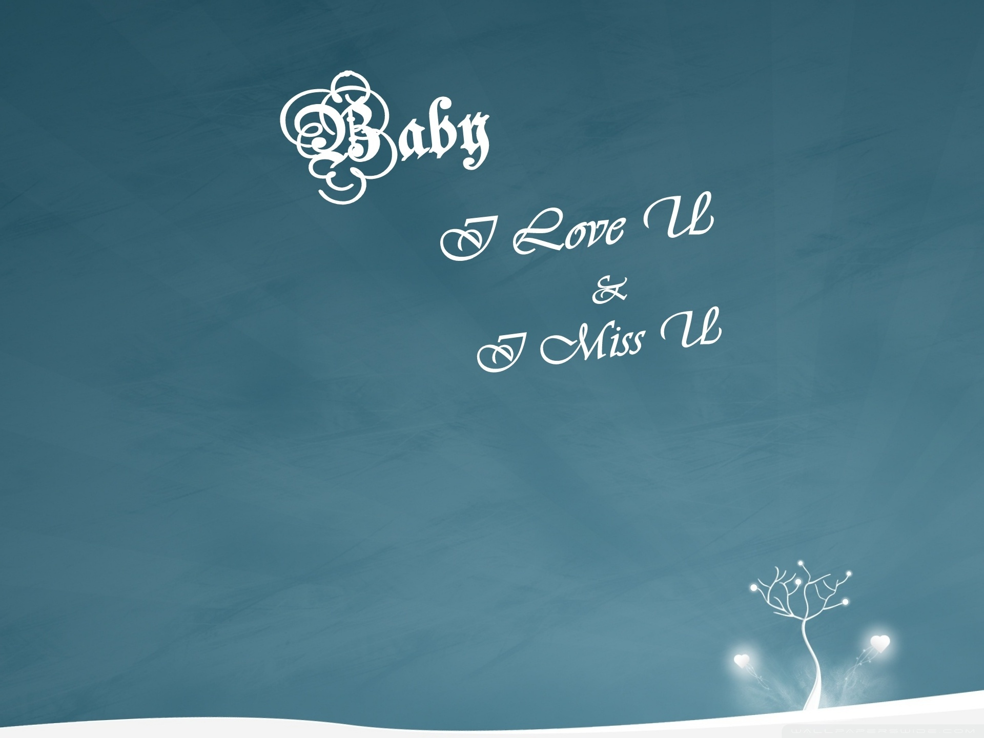 I Love U Baby Wallpaper