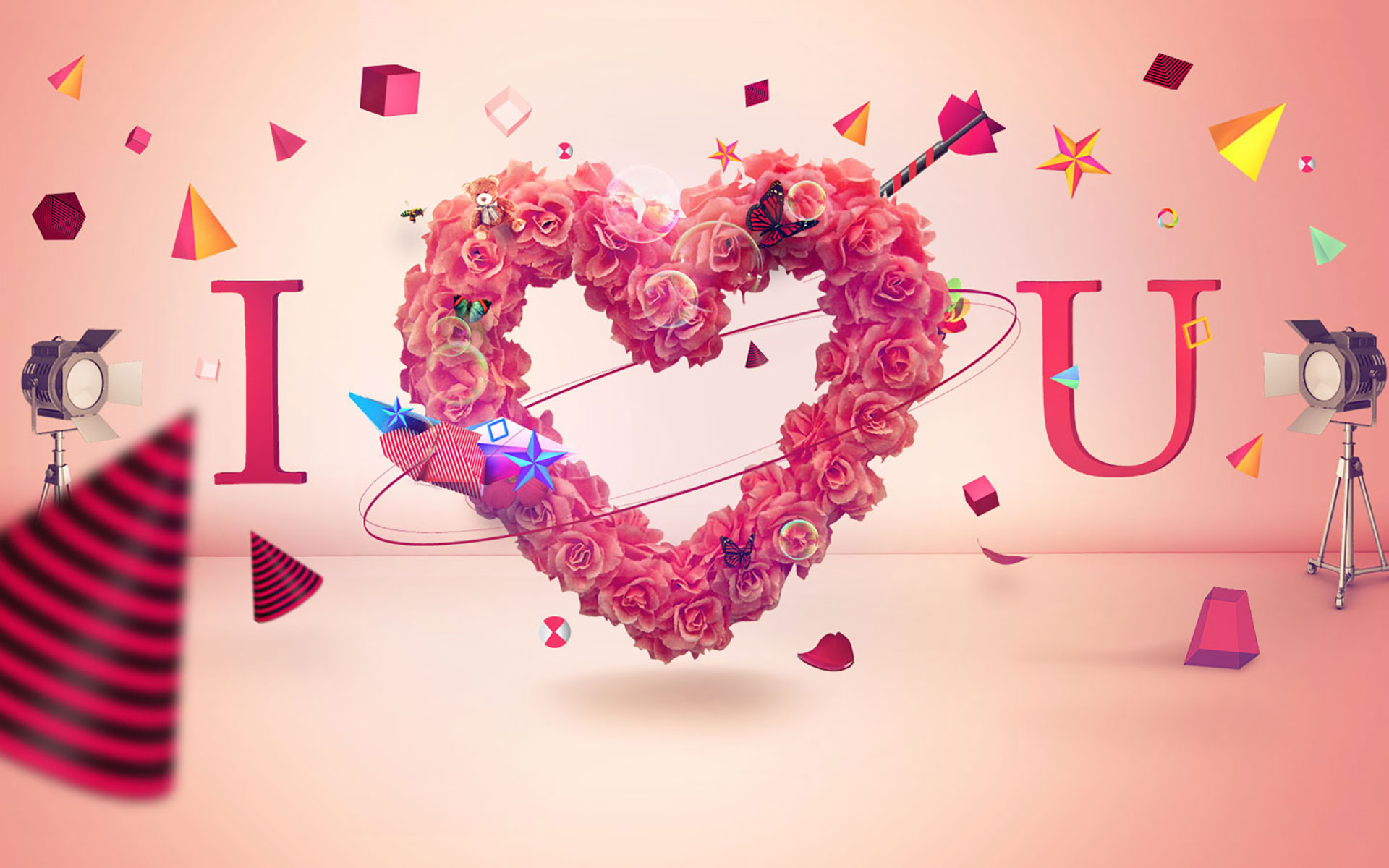 I Love U HD Wallpapers Free Download