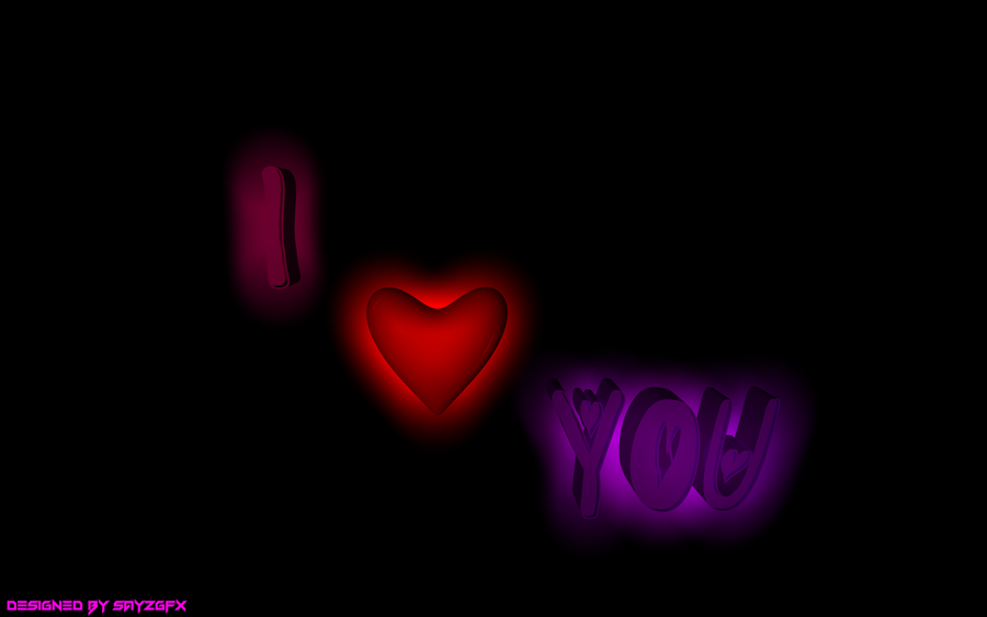Download I Love You 3D Wallpaper Gallery