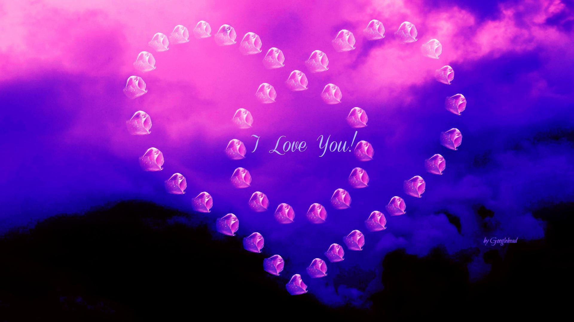 I Love You Best Wallpaper
