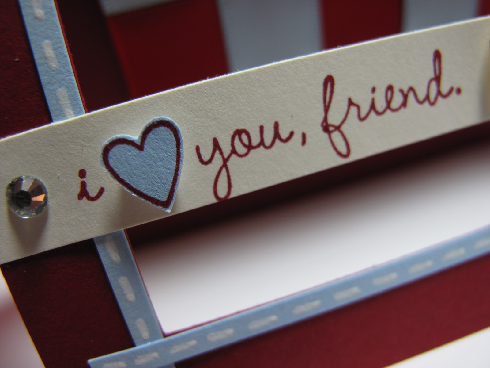 I Love You Friend Wallpaper
