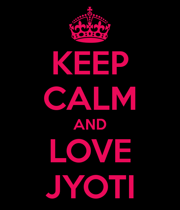 I Love You Jyoti Wallpaper