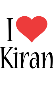 I Love You Kiran Wallpaper