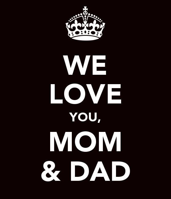 Download I Love You Mom And Dad Wallpaper Gallery