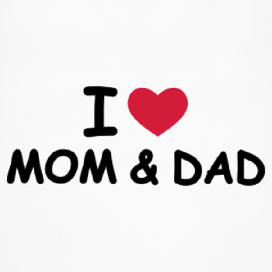 I Love You Mom And Dad Wallpaper