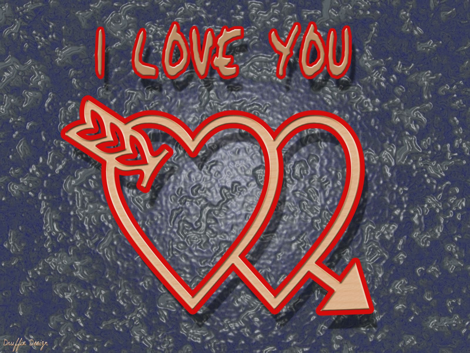 I Love You Name Wallpaper
