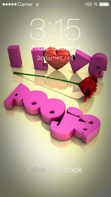 I Love You Puja Wallpaper
