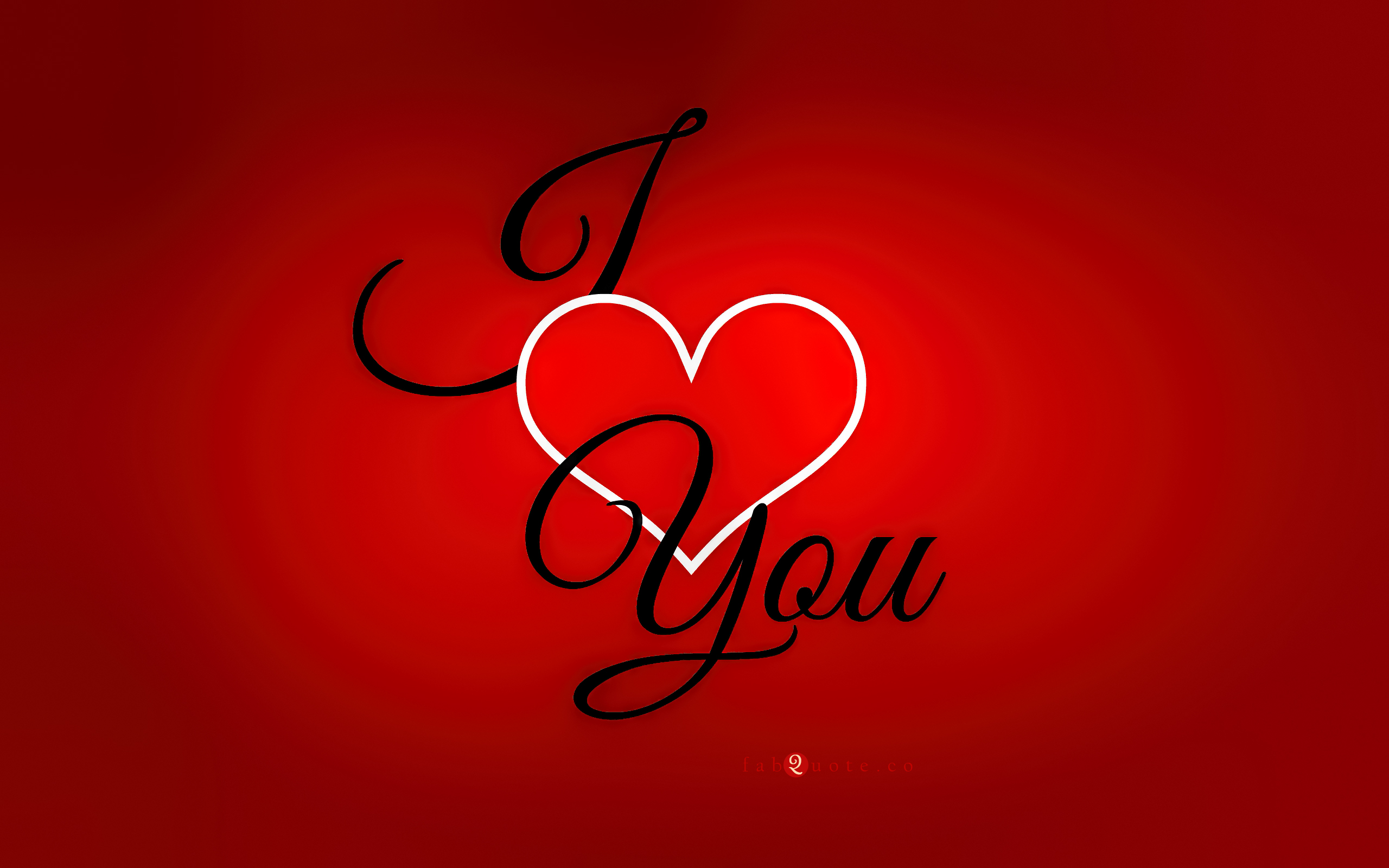 I Love You To Wallpaper