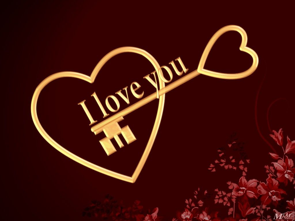 I Love You Wallpapers Com