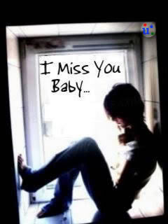 I Miss You Baby Wallpaper