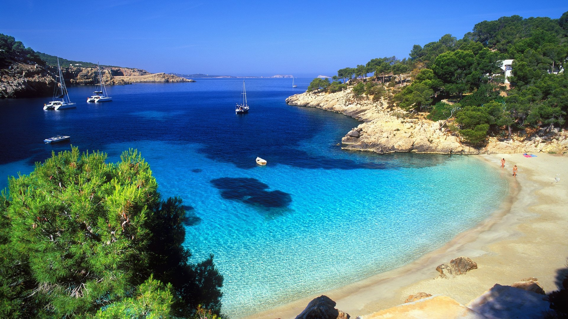 Ibiza Beach Wallpaper
