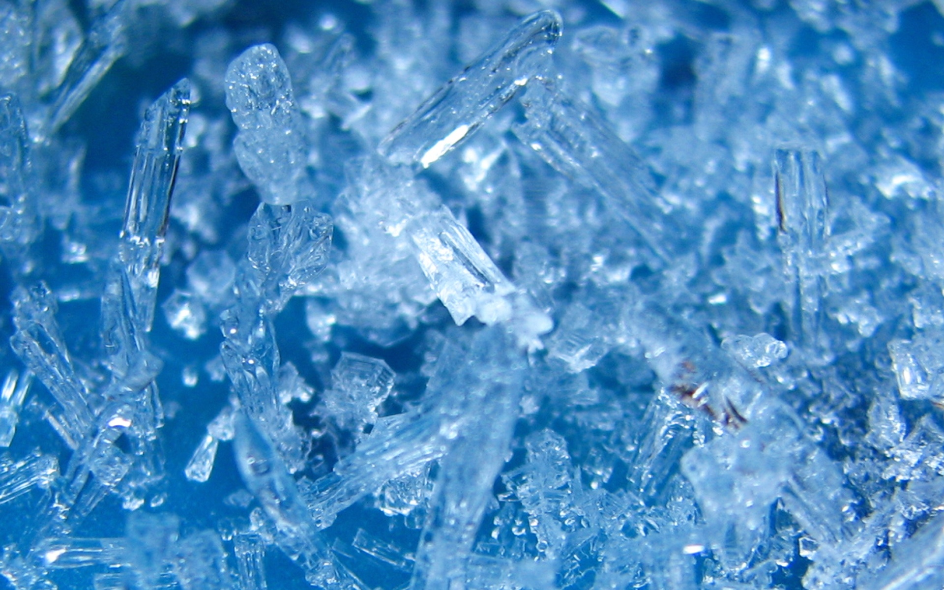 Ice Crystal Wallpaper
