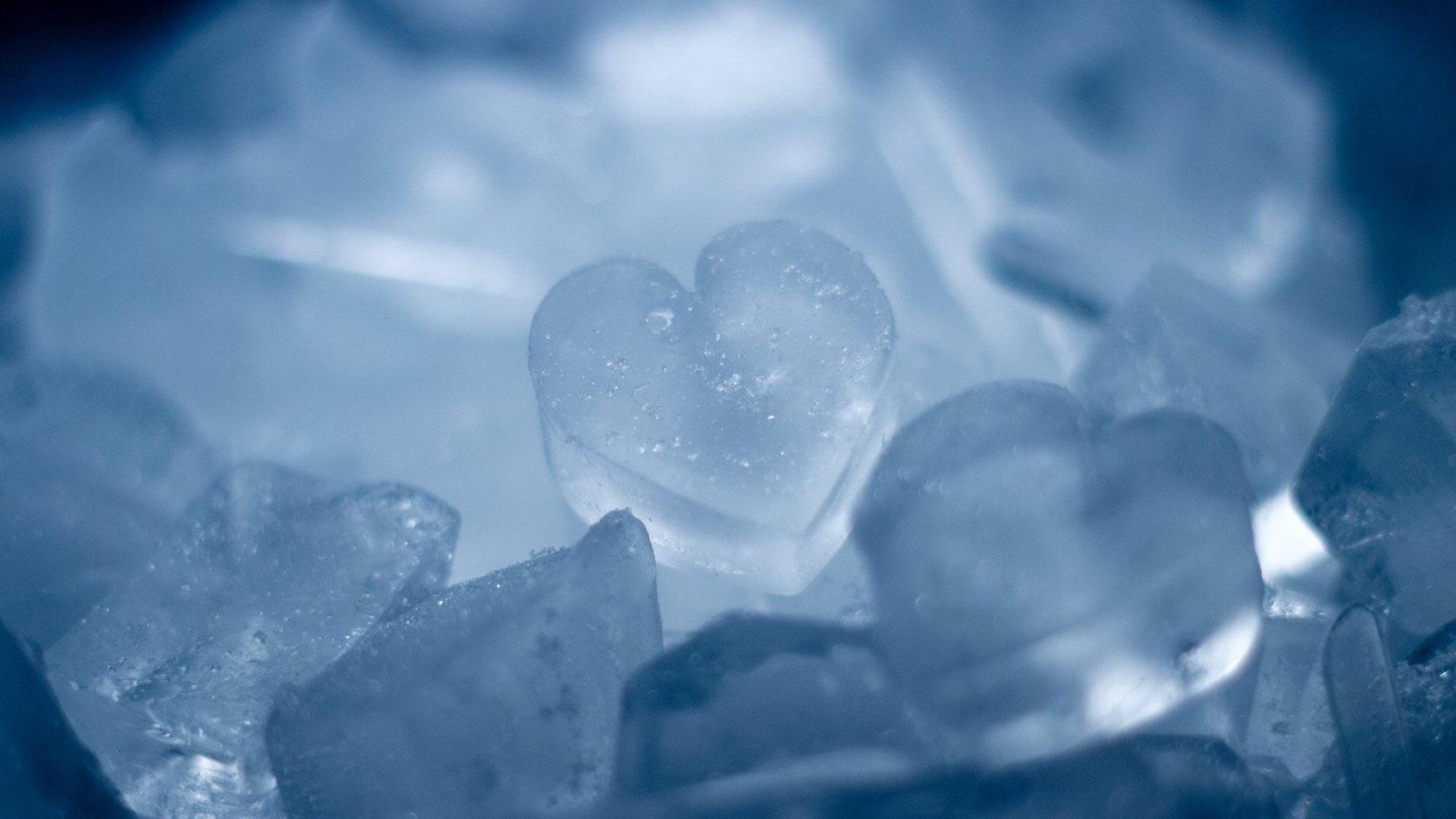 Ice Heart Wallpaper