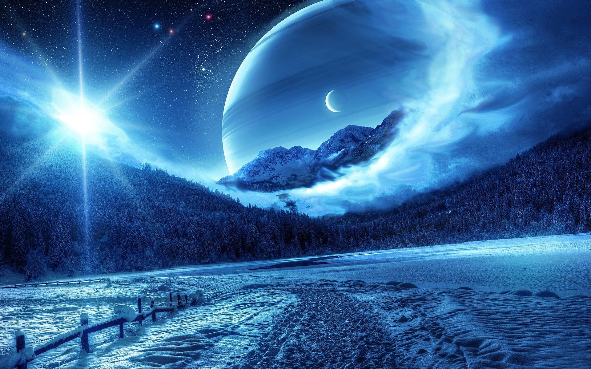 Ice Planet Wallpaper