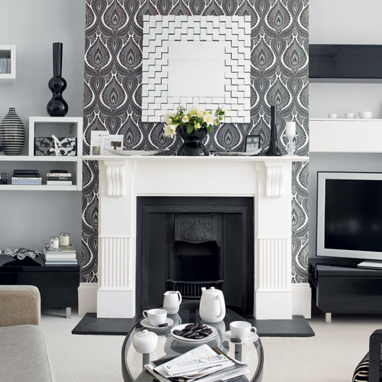 Ideas For Wallpaper In Living Room