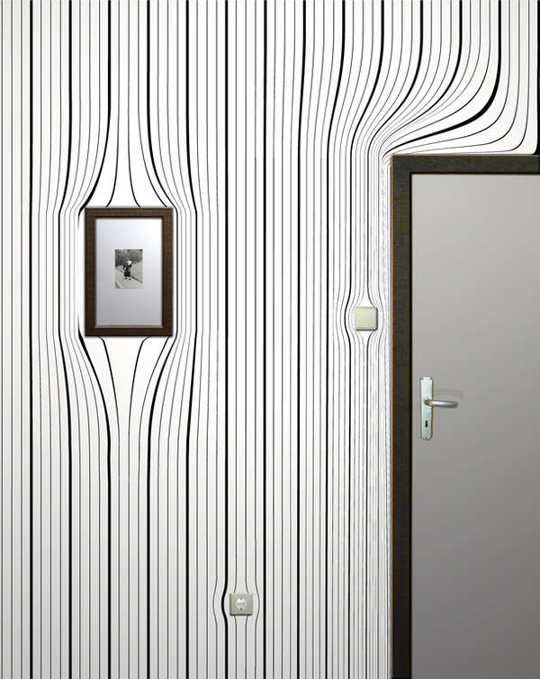 Illusion Wallpaper For Walls