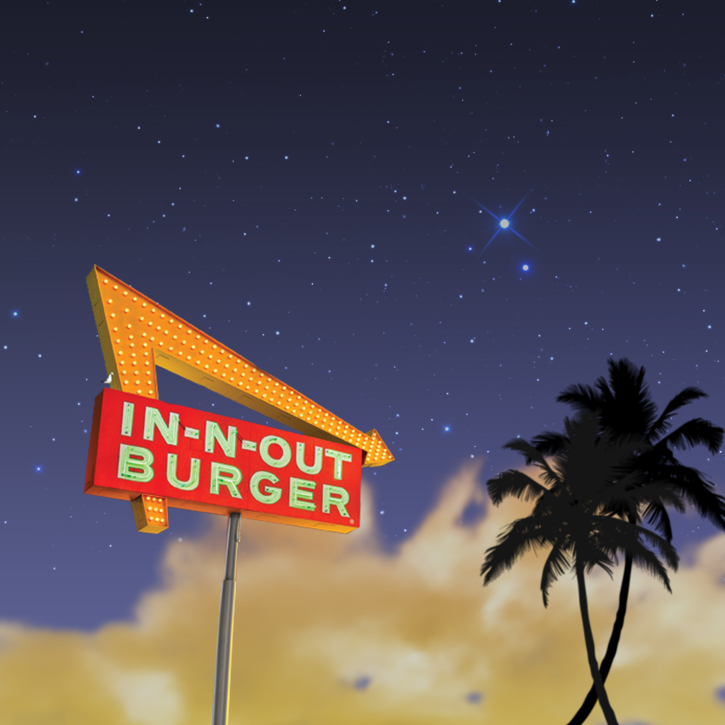In N Out Wallpaper