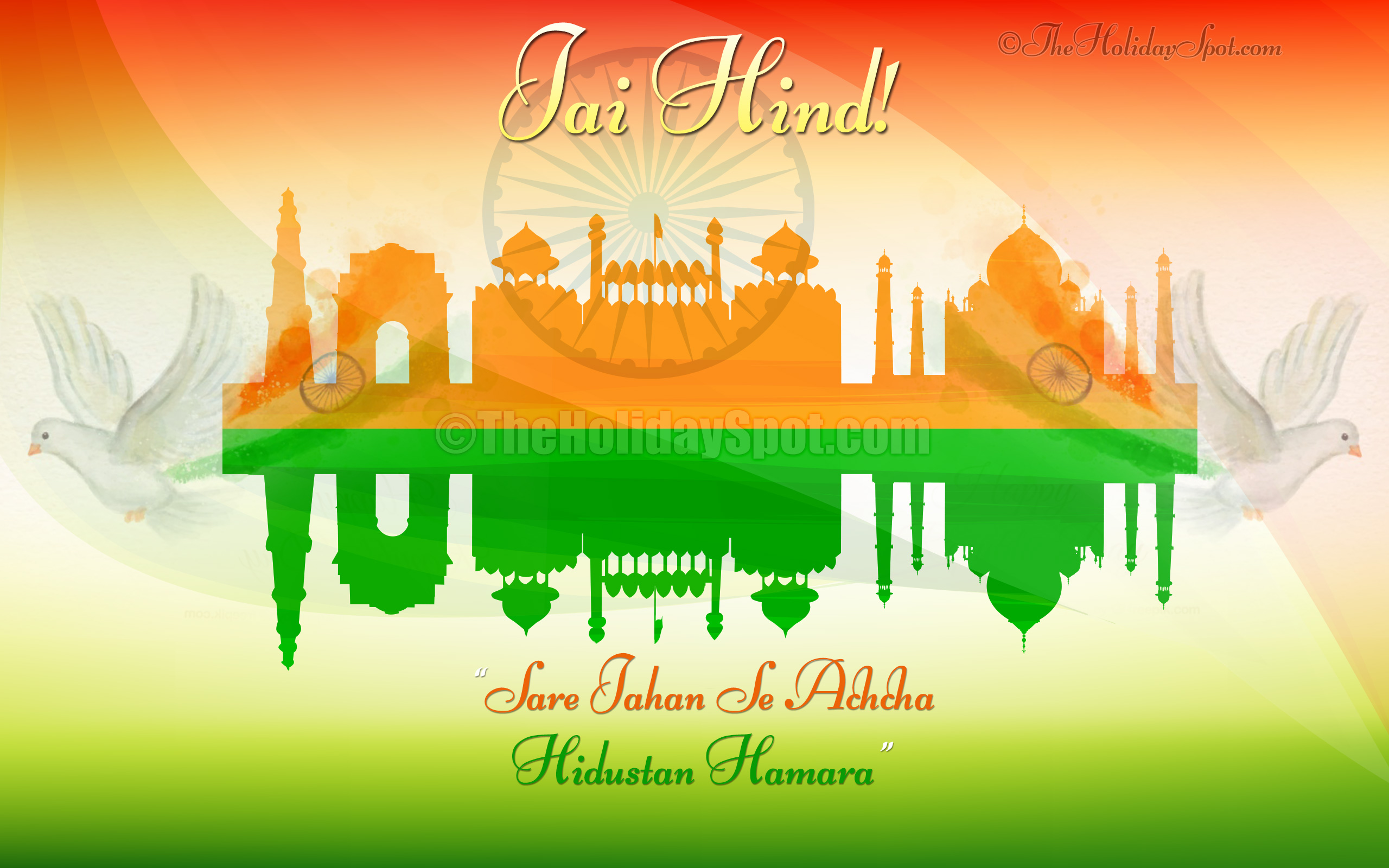 Independence Day Flag India Wallpaper