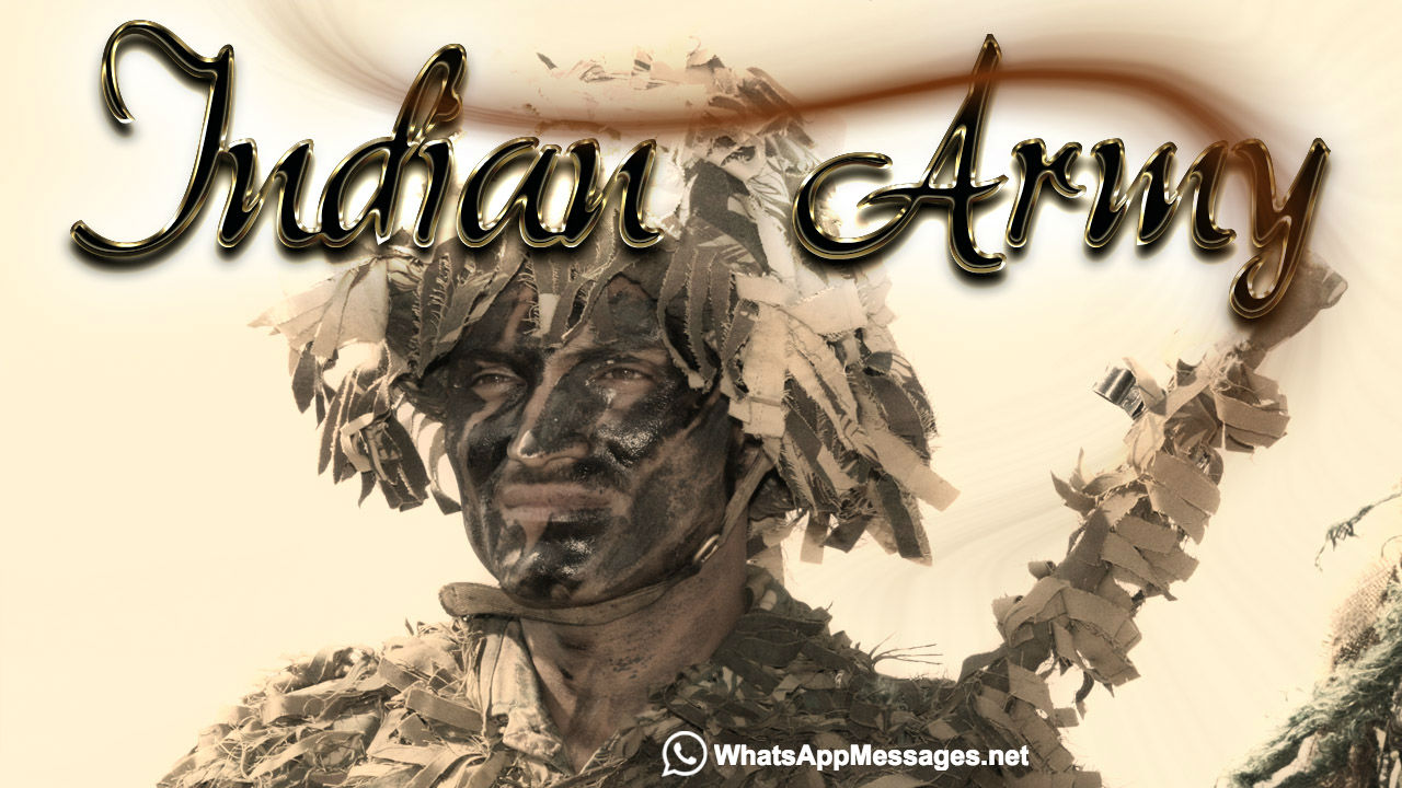 Indian army logo wallpaper