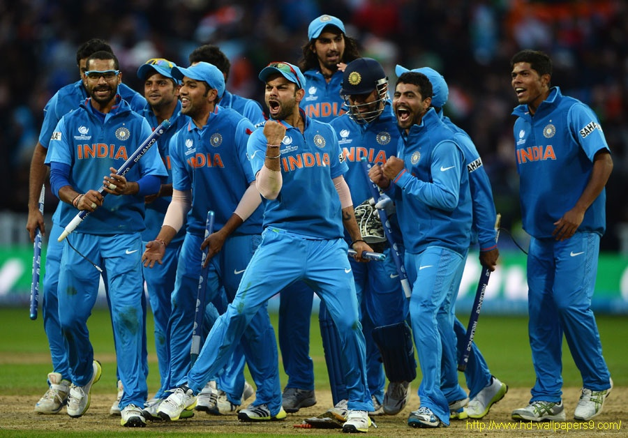 Indian Cricket Team HD Wallpapers